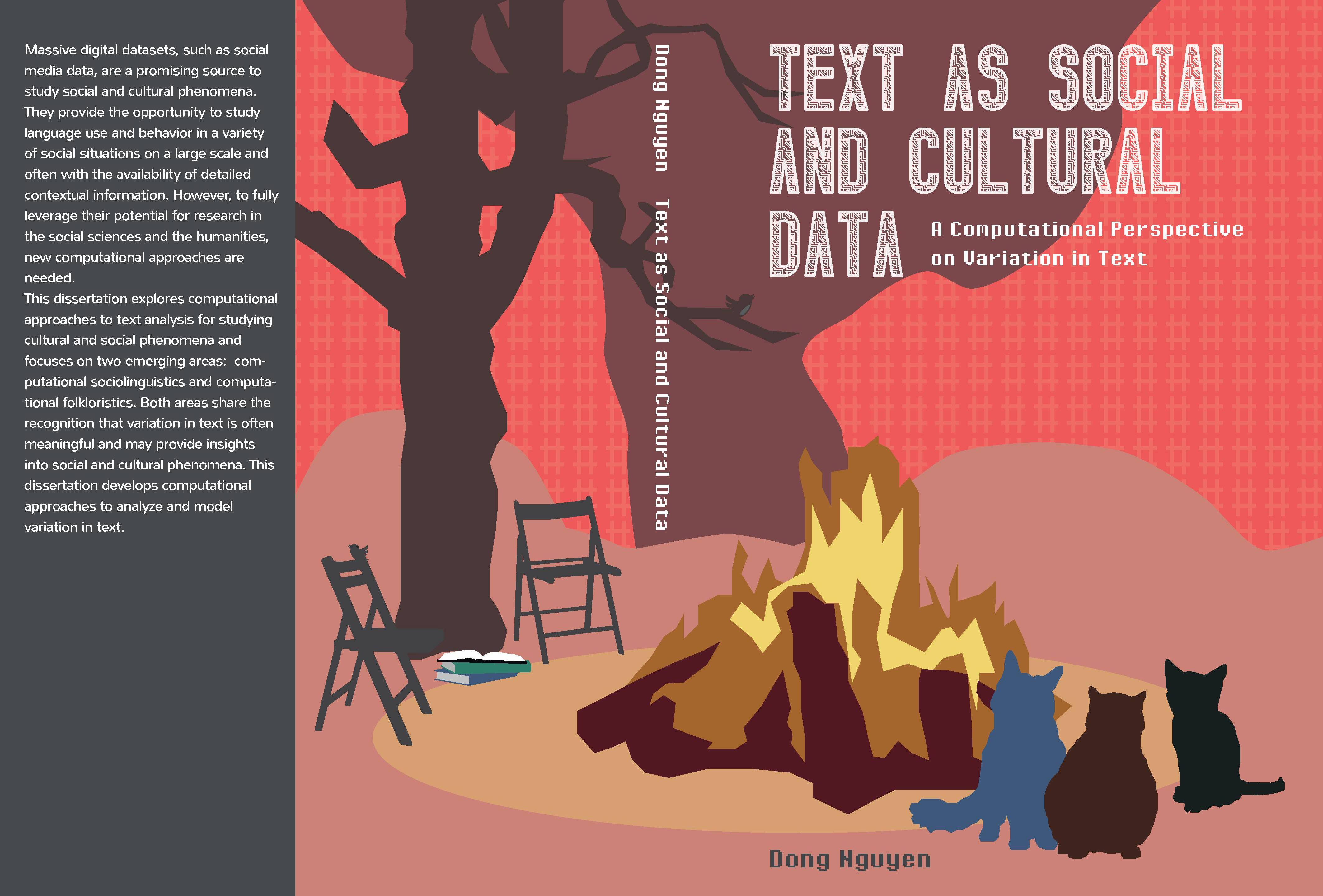Text as social and cultural data